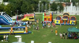 inflatable event photo