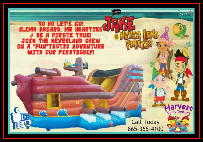 Harvest Party Rentals Knoxville Bounce House Inflatable